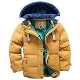 LSERVER-Winterjacke für Kinder Jungen Mädchen Verdickte Daunenjacken Mantel Trenchcoat Outerwear...