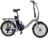 WJSW CX2 Fahrrad Elektrisches Klapprad mit Lithium-Ionen-Akku