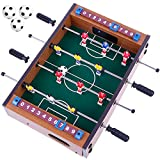 Goldge Mini Kickertisch Fußballtisch Kicker inkl. 4 Kickerbälle Maße 34.5 * 23cm Top Qualität...