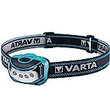 Varta 4 x 5 mm LED Outdoor Sports Head Light H10 (inkl. 3x High Energy AAA Batterien Kopfleuchte...