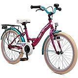 BIKESTAR Premium Sicherheits Kinderfahrrad 20 Zoll für Mädchen ab 6-7 Jahre  20er Kinderrad...