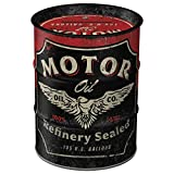 Nostalgic-Art - Motor Oil Spardose, Geschenke für Biker und Motorrad-Liebhaber, als Sparschwein aus...