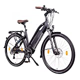 NCM Milano Plus Urban E-Trekking E-Bike 48V 16Ah 768Wh Schwarz 26'