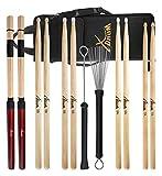 XDrum Drumstick Starter Set (Sticks, 5A Nylon, 5B Wood und Nylon, 7A Wood, Jazzbesen, Rods, inkl....