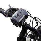 Fahrrad Lautsprecher, Venstar Tragbarer Bluetooth Lautsprecher Spritzwassergeschützt mit 6W...