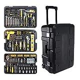 ZoSiP Professionelle Reparatur-Werkzeug-Set DREI-Schicht-Spurstangen Toolbox Sets...