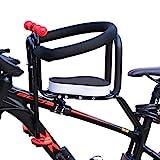 TETAKE Kindersitz Fahrrad, 50KG Abnehmbar Fahrradkindersitz Vorne mit Pedal und Griff, Mountainbike...