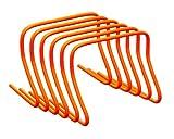 Boje Sport 6er Set befüllbare Koordinationshürden/Hürden - Höhe: 40 cm, orange