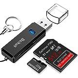 Kartenleser USB 3.0, Beikell SD/MMC/MicroSD Kartenlesegerät mit Highspeed Lesen und Schreiben von...