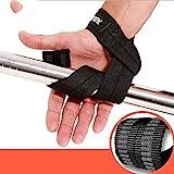 QWERBAN 1Pair Gewichtheberhandhandgelenkriemen Stützbügel Brace Band Gym Straps Gewichtheben...