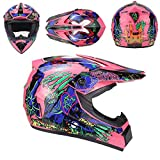 SICILY Motorradhelm Cross Helme Schutzhelm Motocross Helm Für Motorrad Crossbike Off Road Enduro...