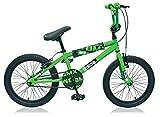 20' 20 Zoll BMX Kinder Jugend Fahrrad Rad KINDERFAHRRAD Bike KINDERRAD Dingo GRÜN SCHWARZ