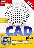 FreeCAD plus Die professionelle 2D + 3D Software auf CD DVD Konstruktion Architektur, Maschinenbau,...