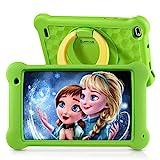 Surfans Kinder-Tablet, 2 GB RAM + 32 GB ROM, 7-Zoll-IPS-FHD-Display, Android 10.0 WiFi-Tablets für Kinder Kids Jungen Mädchen, Grün