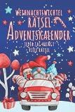 Weihnachtswichtel Rätsel Adventskalender - Jeder Tag bringt viele Rätsel: Beliebte Geschenkidee zur Weihnachtszeit: Sudoku, Labyrinthe, Wortsuche, ... Buchstabensalat, Wortgitter, Kakuro