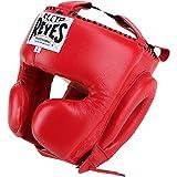 CLETO REYES Kopfschutz für Boxen, mit Wangenschutz, Rot, M
