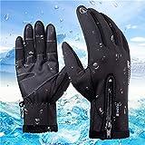 Anqier Winter Handschuhe, Touchscreen, Winddicht Warm Hand Handschuhe Fahrrad Handschuhe für Damen...