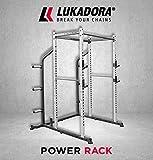 Lukadora Power Rack (Power-Cage)   Multifunktionale Kraftstation mit Klimmzugstange,...