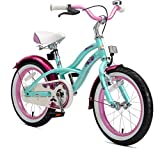 BIKESTAR Premium Sicherheits Kinderfahrrad 16 Zoll für Mädchen ab 4-5 Jahre   16er Kinderrad...