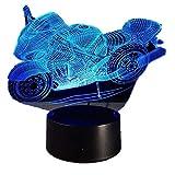 giyiohok LED-Lampen-Nachtlicht der optischen Illusion 3D,Tolle 7 Farben Schnell...