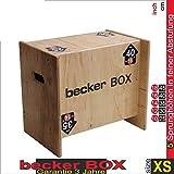 Becker-Sport Germany Becker Box XS Weltneuheit, 5 in 1 Box (BSG 28951) einzigartige Plyo Box mit 5...