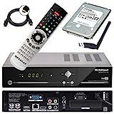 Megasat HD Twin SAT Receiver HD 935 V2 mit 1 TB Festplatte und W-LAN Stick (PVR, USB, LAN, W-LAN,...