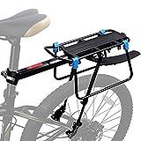 WESTGIRL Gepäckträger Fahrrad hinten, Schnellspanner Fahrrad Gepäck Cargo Rack mit Fender...