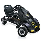 Hauck Batmobile Go-Kart für Kinder ab 4 Jahren, coole Superhelden Karosserie, Handbremse für beide...