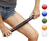 Faszienroller mit  Griff – Triggerpunkt Massage Stick zur Muskelentspannung & Muskelkater...