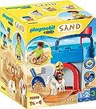 PLAYMOBIL-1.2.3 Sand 70340 Kreativset 'Sandburg', Ab 3 Jahren