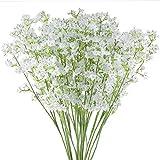 Hauserlin 20 Stück Künstliche Blumen, Gypsophila, Gipskraut, Zart, Filigran, 40 cm Kunstblume...