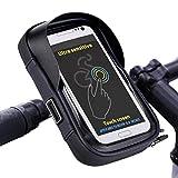 Tomuku Wasserdicht Fahrradlenkertasche Fahrradlenker Handyhalterung Fahrrad Handytasche für Handy...