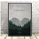 Poster und Drucke Twin Peaks TV-Serie zeigt Film Anime Leinwand Malerei Kunst Wandbilder für...