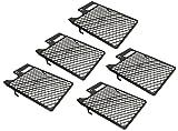 KOTARBAU® 5er Set Kunststoff Abstreifgitter 265x300mm Verzinkt zur Verwendung mit Farbwalzen
