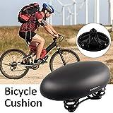 HAMHIN Fahrradsitz Großer Fahrradsitz breite Sitz Mountainbike Sitz Bequeme Kissen Fahrrad Kissen