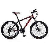 KP&CC Mountainbike Scheibenbremse Stoßdämpfend Rennrad, Leicht und leicht zu tragen, Hohe...