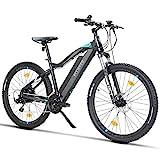 Fitifito MT27,5 Plus-48V Zoll Elektrofahrrad Mountainbike E-Bike Pedelec, 48V 13Ah 624Wh Samsung...
