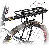 Queta Gepäckträger Mountainbike, Einstellbare Fahrrad Gepäckträger, Aluminiumlegierung rennrad...