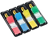 Post-it Haftstreifen Index Mini 683-4 – Farbige Haftnotizen in 11,9 x 43,2 mm – 4 Haftstreifen...