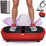 Sportstech Profi Vibrationsplatte VP300 mit 3D Wipp Vibrations Technologie,2x1000W max Motoren...