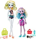 Monster High FCV82 Geschwister Puppe-Set Lagoona