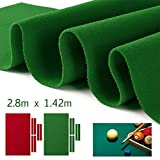 HOMYY Billardtuch, Billardtischtuch Billardtischtuch Zubehör Nylon Bar Solid Sports Billard Pool...