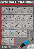 POWRX Gymnastikball//Yoga Ball Workout, Level 2