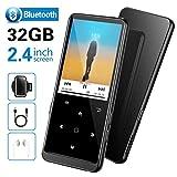 SuperEye 32GB MP3 Player Bluetooth 4.2 mit FM Radio und Voice Recorder,2.4 Zoll Sport MP3-Player mit...