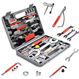 GOPLUS 44 TLG. Fahrrad Werkzeugkoffer, Fahrradwerkzeugset, Fahrradwerkzeug Reparaturset,...