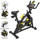 Nero Sports Spinning Aerobic Heimtrainer Indoor Training Fitness Cardio Spin Bike Fahrrad Pulsmesser...