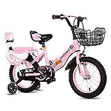 Kinderfahrräder Sport & Freizeit Jungen Und Mädchen Fahrräder 14/16/18 Zoll Fahrräder Mit Hilfs...