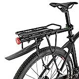 ROCKBROS Fahrradgepäckträger Mountainbike Gepäckträger Schnellspanner mit Schutzbleche und...
