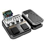 AsmuseNUX MG 100 Elektrische Gitarren Multieffekte Professionel Multi Effekt Pedal Prozessor Looper...