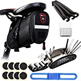 H&L Fahrräder Tasche Satteltasche für Mountainbike Rennräder Fahrrad, Wasserdichte...